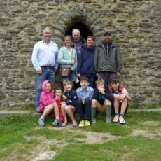 Ken's 79-year walk to the top of the folly!